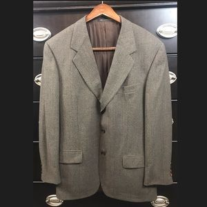 🎃Ermenegildo Zegna  Three Button Blazer Jacket